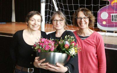 Herzlicher Dank an Ute Hauser, Rosemarie Eilber und Ulrike Helmig -insgesamt 64 Jahre Klubheim