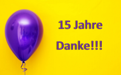 Gratulation zu 15 Jahren Klubheim – Ines Rothe